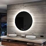 Artforma 60 cm Specchio Tondo da Parete Bagno con...