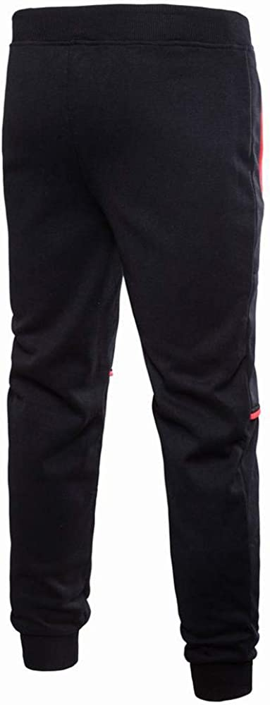 Inverlee Mens Pure Color Pocket Overalls Casual Pocket Sport Wor