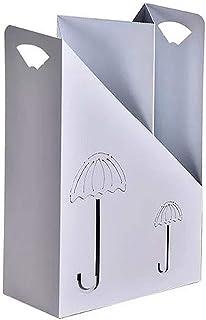 Umbrella Stands Håller man ihåligt metallmålat paraply förvaringsfack oberoende stor kapacitet halkfri kontor dekorativ ra...