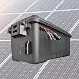 Cutting Edge Power CEP Fortress Waterproof Solar Generator Battery Box with up to 5000W Inverter, USB, 12V (None (Eco Version))