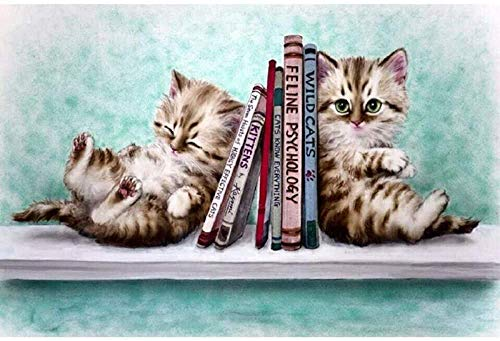 Puzzles für Erwachsene 1000 Stück Katzenbuch Kinder Geschenkspielzeug Denksportaufgaben Ente Educational Intellectual Decompressing Fun Game für Kinder Erwachsene