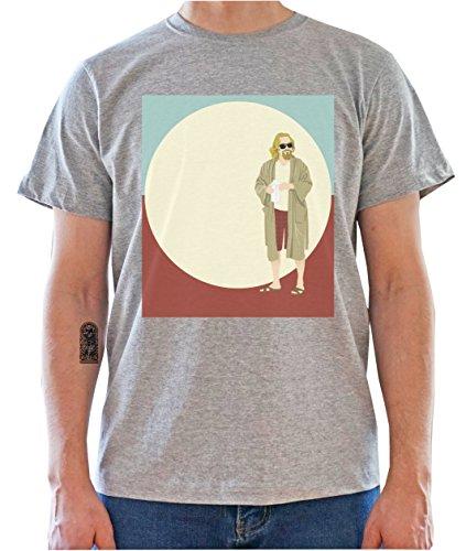 DreamGirl The Big Lebowski Pop Art Graphics Mens T-Shirt Medium