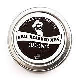 Best Mustache Waxes - Mustache Wax (Sage Scent) - 1 oz Stache Review