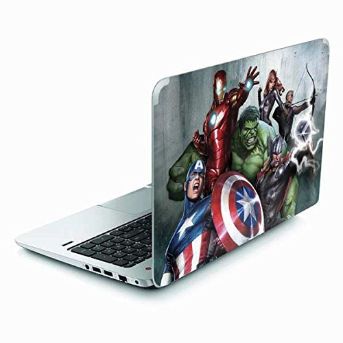 Skinit Decal Laptop Skin Compatible with Envy TouchSmart 15.6in - Officially Licensed Marvel/Disney Avengers Assemble Design