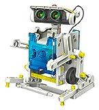 SELVA 14-in-1 Solar-Roboter – Mit nur 1 BAUSATZ (über 200 Bauteile) 14 Verschiedene Modelle Bauen – SOLARPLATTE liefert Energie zur Fortbewegung – C334353