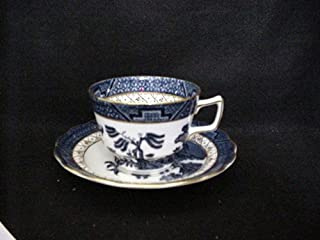 ROYAL DOULTON CUP/SAUCER REAL OLD WILLOW (TC1126) DESIGN IN