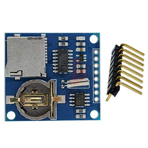 Mini DS1307 V1.0 Real Time Clock Logging Recorder Data Logger Shield Module Micro SD Card Slot for Arduino Raspberry Pi