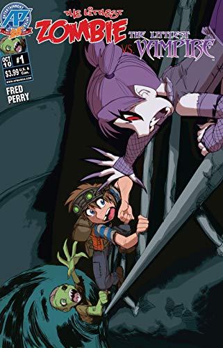 The Littlest Zombie vs the Littlest Vampire #1 (English Edition)