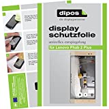 dipos I 2X Schutzfolie matt kompatibel mit Lenovo Phab 2 Plus Folie Bildschirmschutzfolie