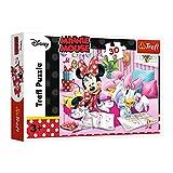 Trefl, Puzzle, Beste Freunde, Disney Minnie, 30 Teile, für Kinder ab 3 Jahren