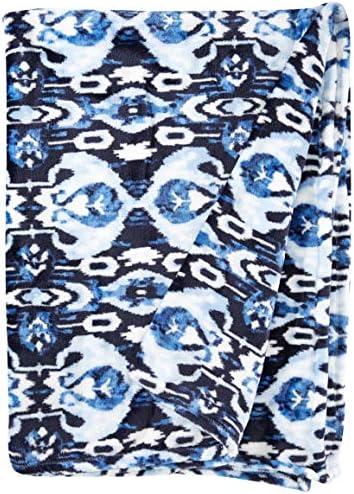 Vera Bradley Fleece Plush Throw Blanket Ikat Island product image