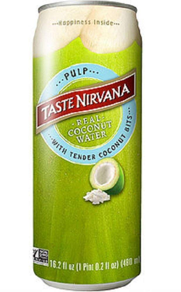 Taste Nirvana Free shipping anywhere in the nation Real Coconut Water with Tender Quantity limited Coco Pulp