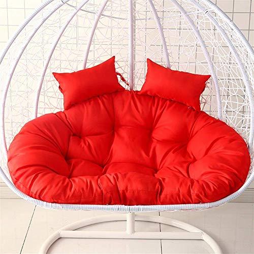 ZTMN Swing mand kussen opknoping mand stoel kussen, opknoping ei hangstoel kussens zonder standaard, Swing stoel kussen dikke nest opknoping stoel terug met kussen