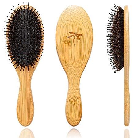 Beauty Shopping Boar Bristle Hair Brush – Hair Brushes for Women & Mens Hair Brush, Detangler Brush, Hairbrush, Detangling Brush for…