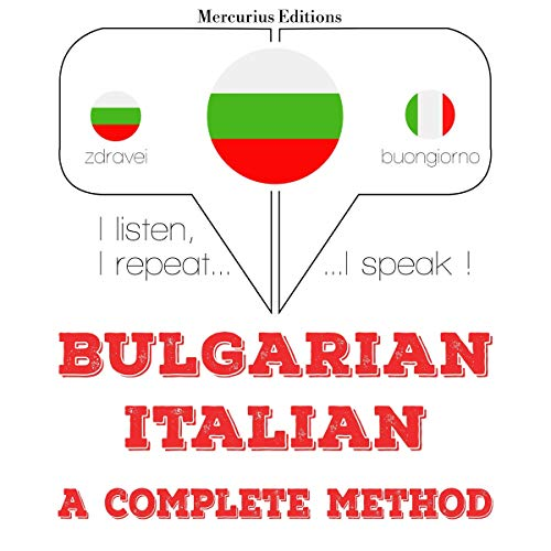 Bulgarian - Italian. A complete method cover art