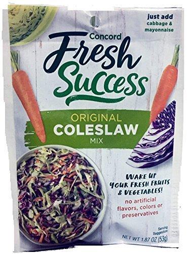 Concord Foods Coleslaw Mix (4 Pkg) 1.87oz pkgs