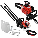 Best Gas Hedge Trimmers - Petrol Hedge Trimmer 26CC 600mm Blades Brush Cutter Review