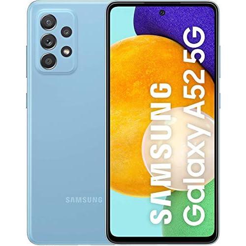 Samsung Galaxy A52 5G - Smartphone 256GB, 8GB RAM, Dual Sim, Blue