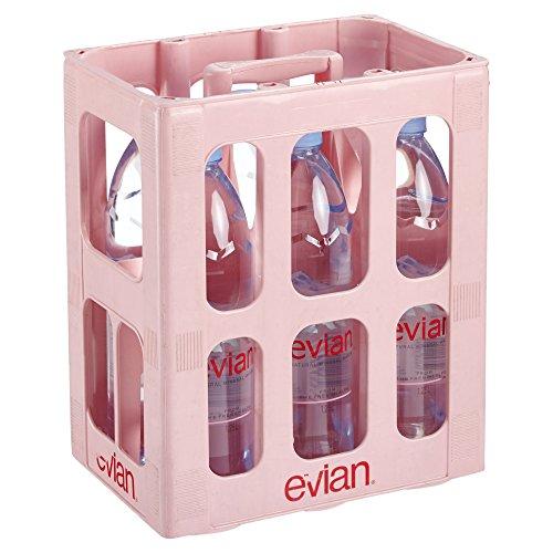 Evian EINWEG natürliches Mineralwasser (6 x 1,25 l)