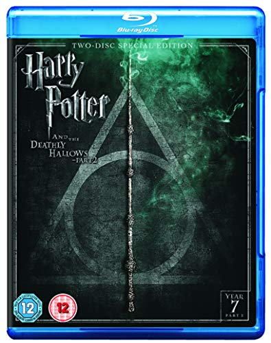 Harry Potter and the Deathly Hallows - Part 2 [Year 7] [2016 Edition 2 Disk] [Blu-ray] [2011] [Region Free]