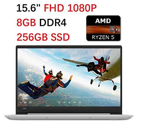 2019 Premium Lenovo Ideapad 330 Laptop 15.6 Full HD (1920 x 1080), AMD Quad-Core Ryzen 5 2500U up to 3.6GHz(Beat i7-7500U), 8GB DDR4, 256GB SSD, WiFi 802.11ac, Bluetooth, HDMI, Windows 10, Gray