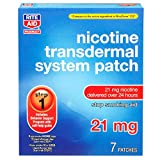 Rite Aid Nicotine Patches, Step 1, 21mg - 7 Count   Stop Smoking Aids