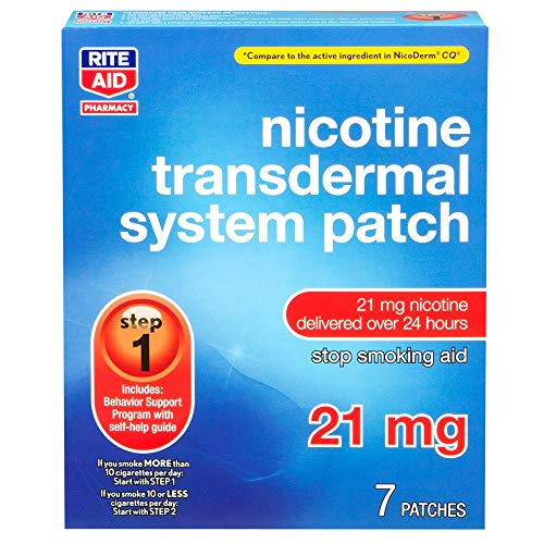 Rite Aid Nicotine Patch Kit - 56 Count | Nicotine Patches | All 3 Steps
