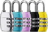 Candado de combinación con cerradura de combinación de 3 dígitos para maleta de bolsa de viaje, mochilas