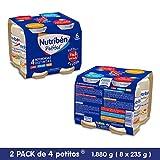 Nutribén - Packs De Potitos Variados (2X4 Uni.) 8 Unidades 1880 g