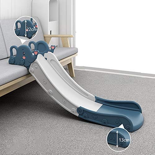 YILANJUN Children's Slide, Safe and Non-slip, Use in Multiple Scenarios, Freestanding Slides, for Toddlers Childrens Kids Toddler Playground Garden Indoor Play Toy Climbing, Blue/Pink