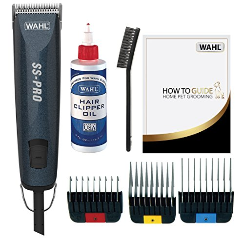 Wahl Dog Clippers, SS Pro Premium Dog Grooming Kit, Full Coat Dog Grooming...
