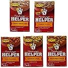 Hamburger Helper Tex-Mex Variety Bundle of 5 - Cheesy Enchilada, Cheesy Fajita, Chili Macaroni, Crunchy Taco, Southwest Pasta