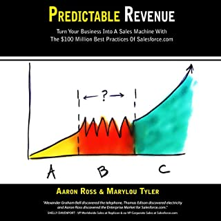 Predictable Revenue     Turn Your Business Into A Sales Machine with the $100 Million Best Practices of Salesforce.com              By:                                                                                                                                 Aaron Ross,                                                                                        Marylou Tyler                               Narrated by:                                                                                                                                 Mary Jane Wells                      Length: 5 hrs and 7 mins     17 ratings     Overall 4.4
