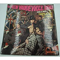 THE NEW VAUDEVILLE BAND peek a boo/amy/whatever happened to phyllis puke EP 1967 Fontana