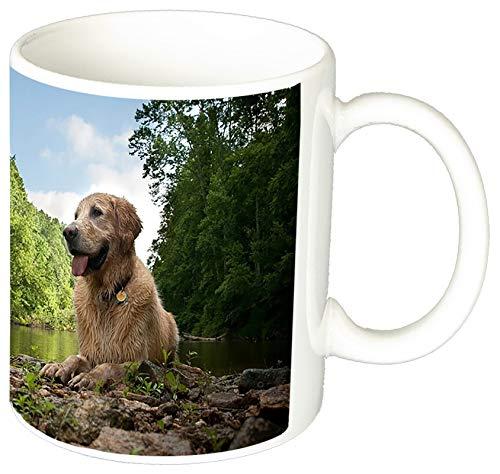 MasTazas Golden Retriever D Tasse Mug