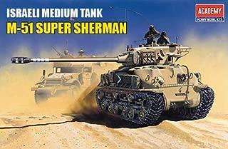 Academy 1/35th Scale Israeli medium Tank M-51 Super Sherman
