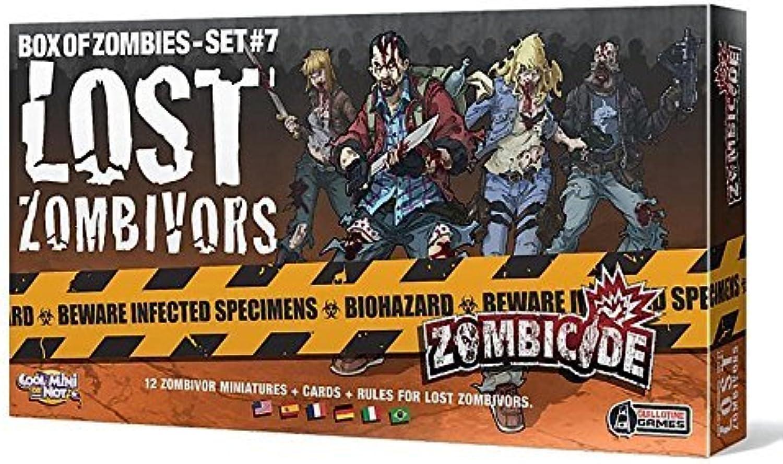 calidad garantizada Zombicide - Box of Zombies Set  9 - - - Lost Zombivors by Cool Mini Or Not  salida para la venta