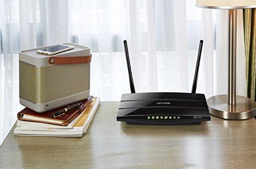 TP-Link Archer C5 AC1200 WLAN Dual Band Gigabit Router (802.11b/g/n/ac, 1200Mbit/s, 4x LAN, 1x WAN, 2x USB 2.0)