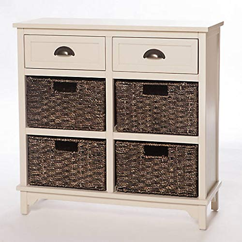 Limitless Home Graham 6 Drawer Chest – Off White