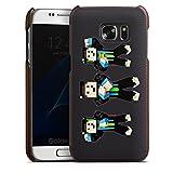 DeinDesign Samsung Galaxy S7 Lederhülle Leder Case Leder Handyhülle Gommehd Fan Article Merchandise Fanartikel Merchandise