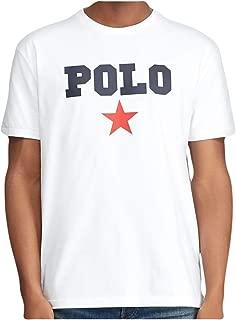 Ralph Lauren Polo Men's Classic Fit Graphic Logo Americana Cotton Short Sleeve Crewneck T-Shirt