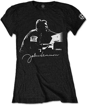 John Lennon People for Peace T-Shirt Femme