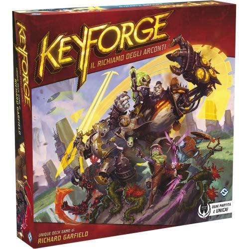 Asmodee - Keyforge, El Recuerdo de Arconti-Starter Set de Mesa, Color Rojo, 10600