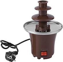 Mini fondue de fontaine à chocolat domestique Tour de fusion de chocolat maison (marron)