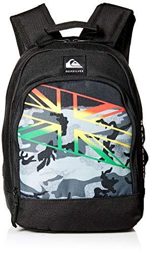 Quiksilver Boys' Little CHOMPINE Backpack, black, 1SZ