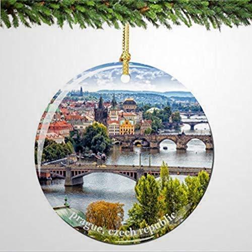 BYRON HOYLE Czech Republic Prague Christmas Ornament Prague Christmas Ornaments Christmas Ornaments Pandemic Xmas Decor Holiday present