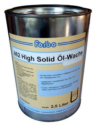 Forbo 862 High Solid Öl-Wachs 2,5L Fußbodenöl Fußbodenwachs