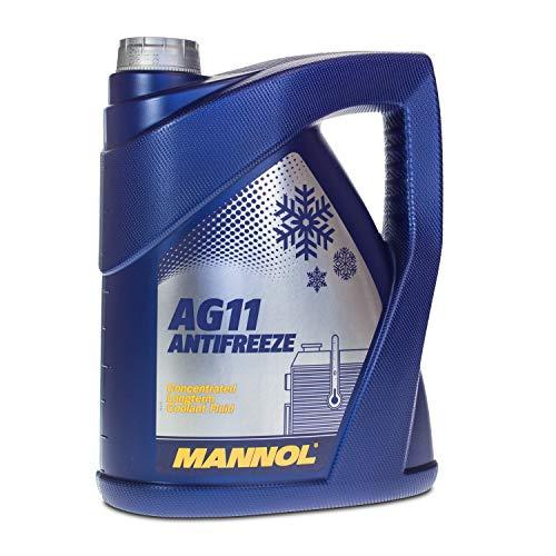 MANNOL Antifreeze AG11 Longterm Kühlerfrostschutz Kühlmittel 5L MN4111-5