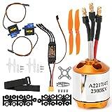 Accessori per aeromobili Taratura dell'acceleratore Giocattoli Modello di Motore per aeromobili RC Telecomando