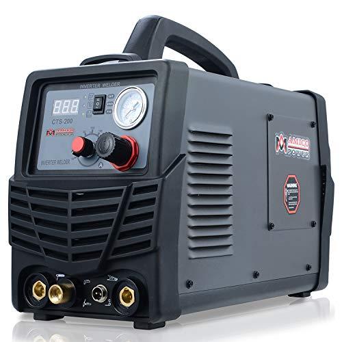 AM CTS-200A, 50 Amp Plasma Cutter, 200 Amp HF-TIG, 200 Amp Stick Arc DC Inverter Welder, 3-in-1 Multifunction Welding Machine